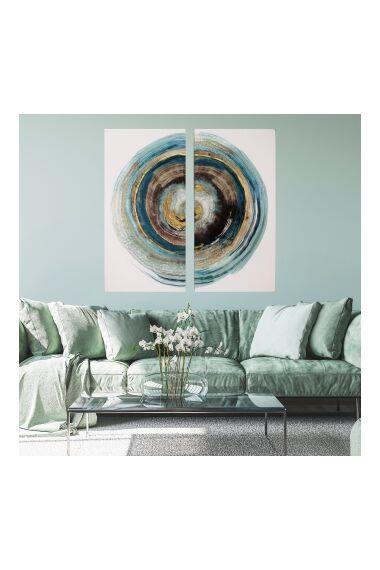 Tavla Abstract Artprint Dibond