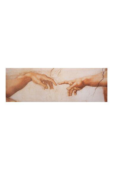 Tavla Canvas Adam and God