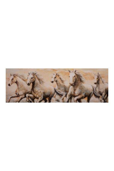 Tavla Canvas Running Horses