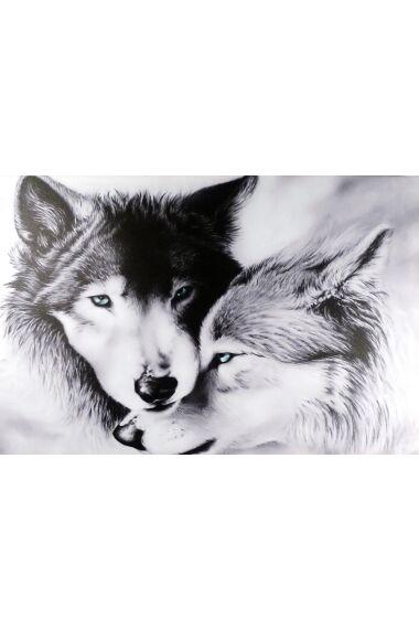 Tavla Canvas Wolves