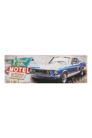Tavla Printing Canvas Vintage Car