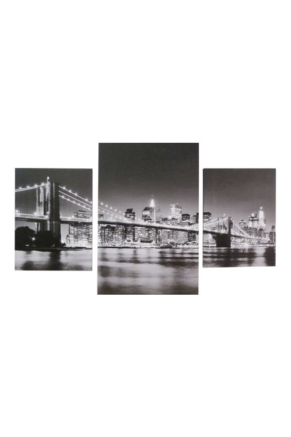 Tavla Printing Canvas New York Set/3
