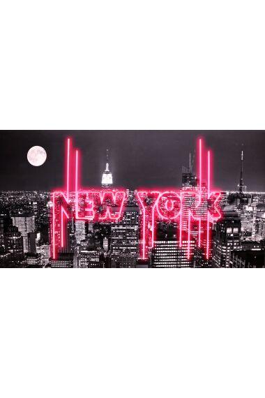 Tavla Light Box New York med LED