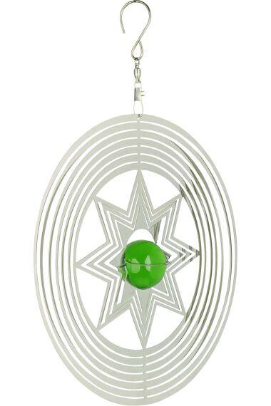 Vindspel Cosmo Spinner Grön
