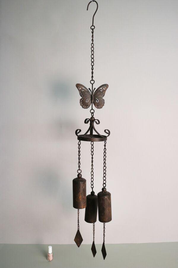 Vindspel Butterfly Gjutjärn