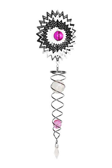 Vindspel Cosmo Spinner Pink