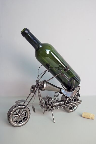 Vinhållare Motorbike