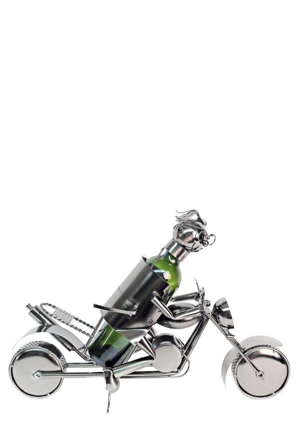 Vinhållare Biker