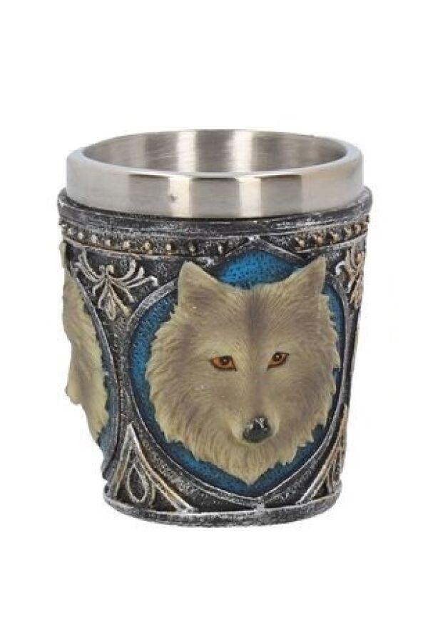 Varg Shotglas Grey Wolf